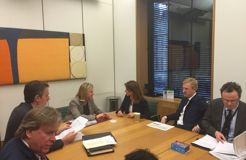Justine Greening Meeting