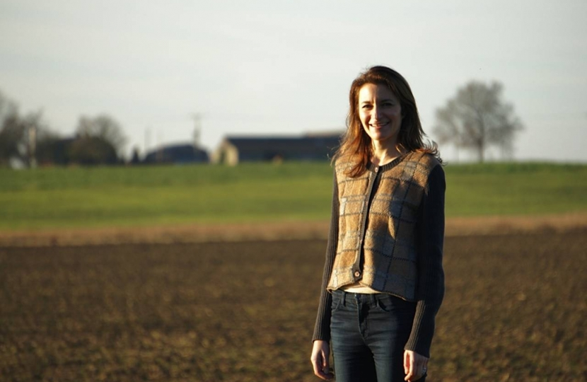 Lucy in South East Cambridgeshire countryside
